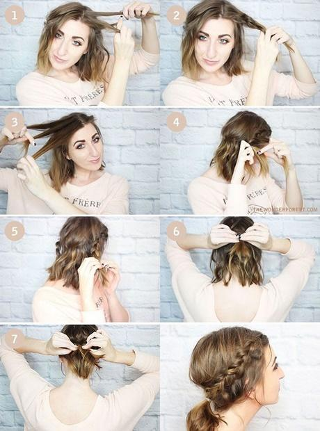 Cute fast and easy hairstyles