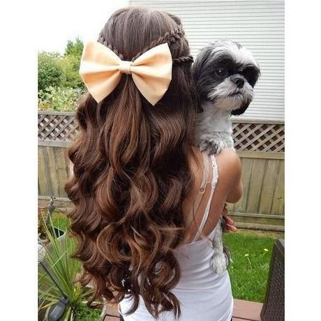 Cute girl hairstyles for long hair