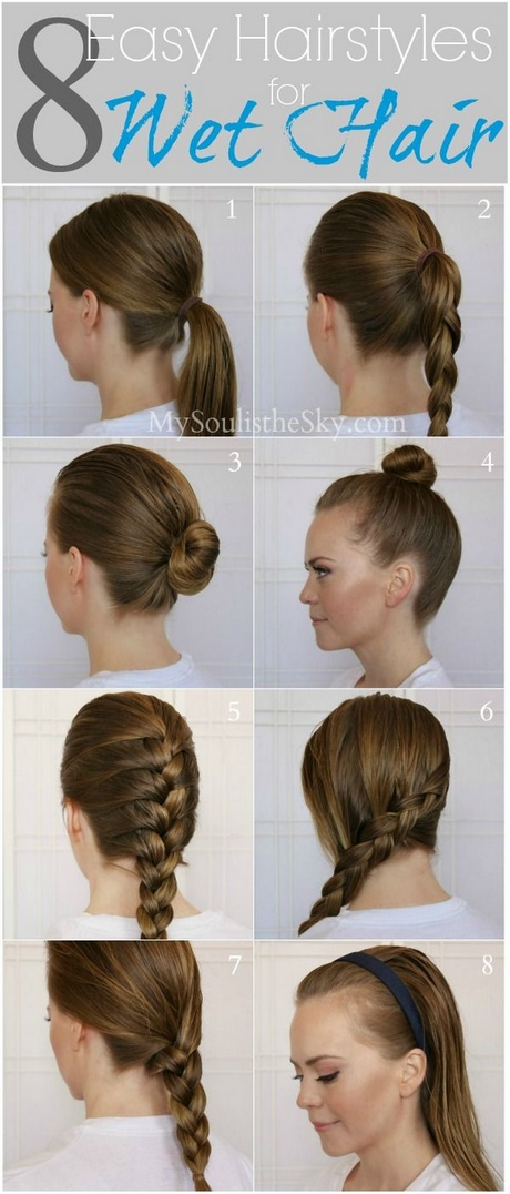 Fast easy cute hairstyles