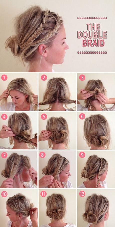 Hairstyles For Short Hair Fast : Fast easy hairstyles for short hair