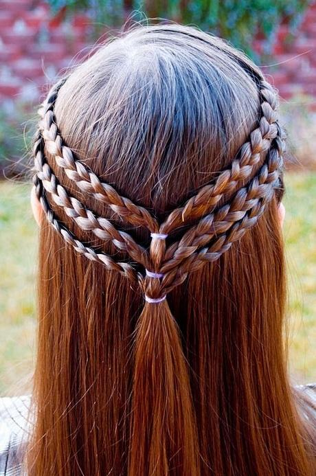 The 25+ Best Ideas About Easy Girl Hairstyles On Pinterest | Easy Kid  Hairstyles Kid Hairstyles And Easy School Hair