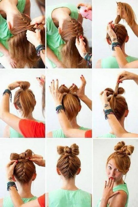 Quick easy and cute hairstyles