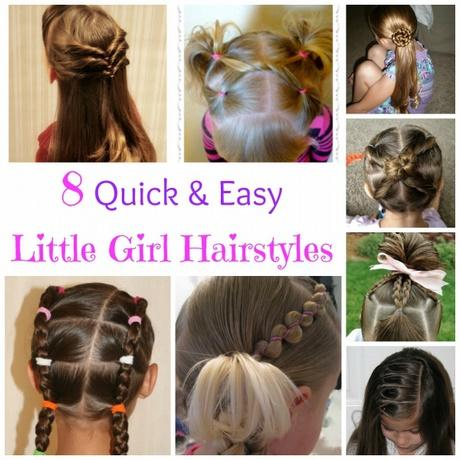 Quick easy hairstyles for little girls 25 little girl hairstylesyou can do yourself get out of your solutioingenieria Images