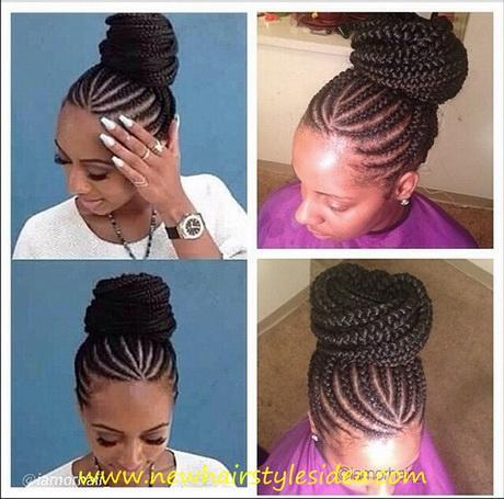 Awe Inspiring Cornrows 2016 Hairstyles For Yourstyle Short Hairstyles Gunalazisus
