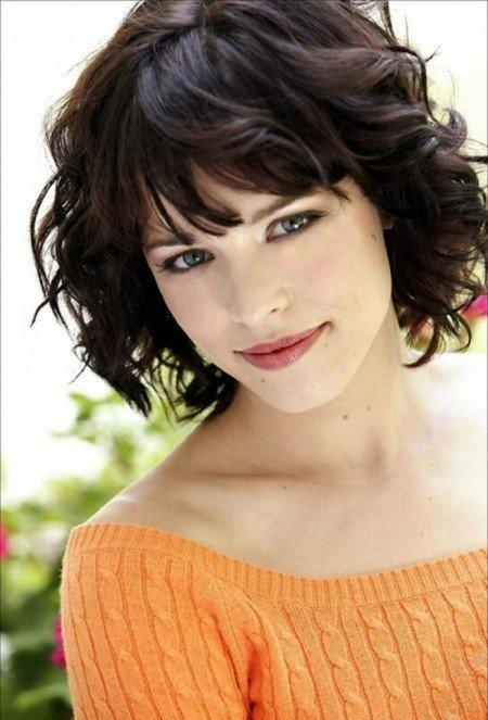 Gallery Of Looking More Flatted With Short Hairstyles For Round Faces Best