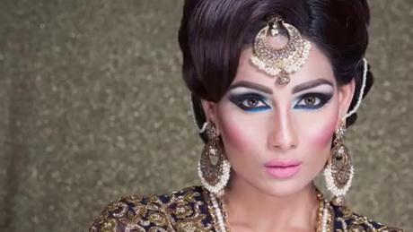 Indian Pakistani Asian Bridal Hair Style TUTORIAL 2016- Asian …