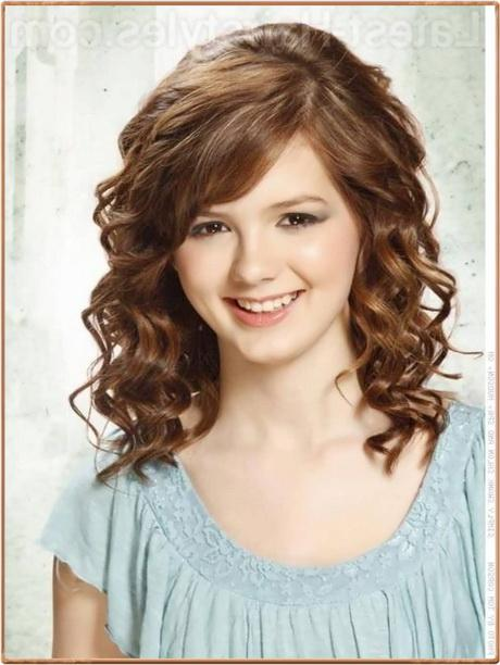 shoulder length hair curly styles curly medium length hairstyles 2016 8251