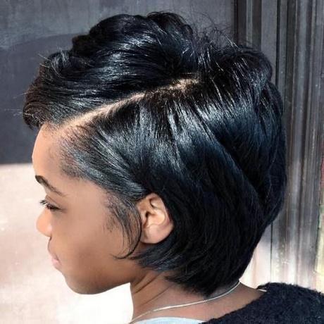 Black lady short hairstyles