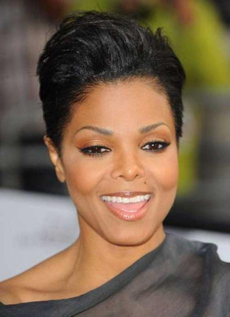 Black lady short hairstyles