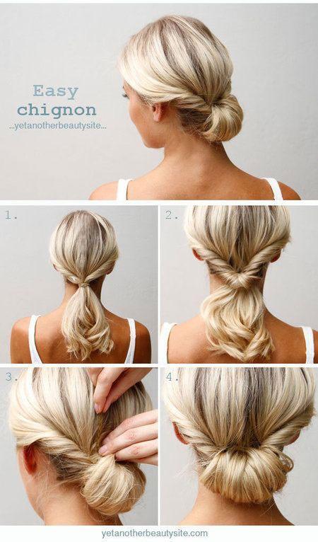 Easy nice hairstyles for medium hair