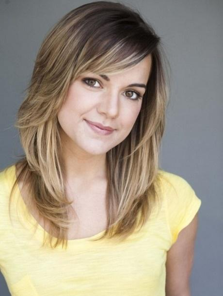 Medium length hairstyles for young women