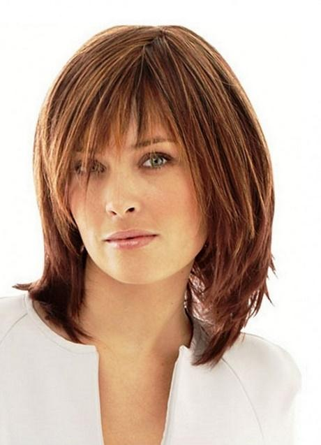 Over shoulder length hairstyles