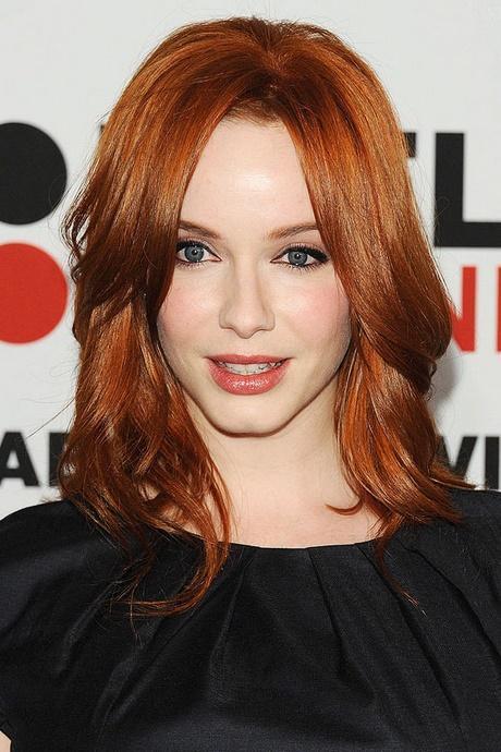 Red Hair Shoulder Length