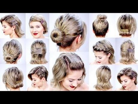 Super easy hairstyles