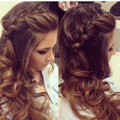 Prom Hairstyles For Long Dresses