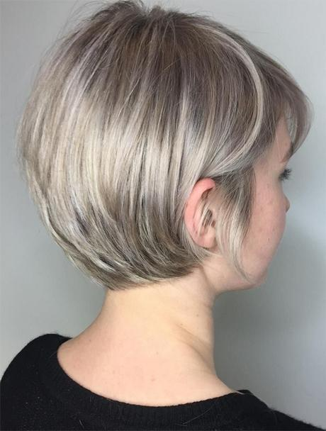 Short Hairstyles For Fat Faces 2018