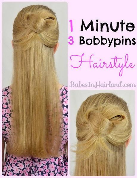 1 Min Hairstyles