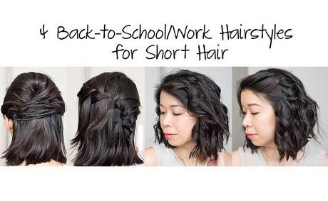 1 Minute Hairstyles For School