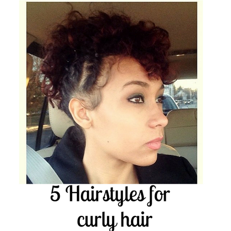 5 hairstyles for curly hair