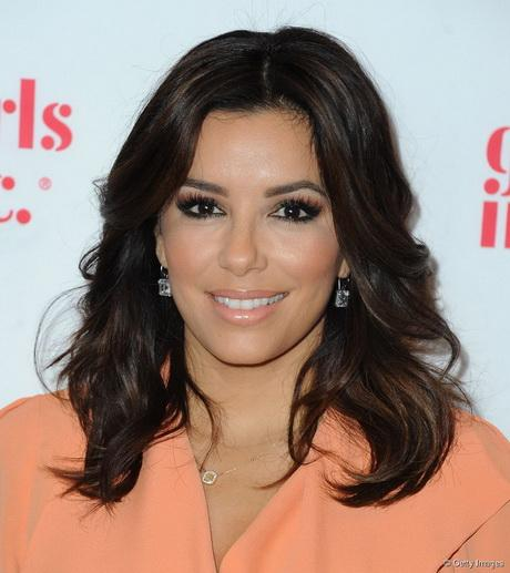 H r hairstyles eva longoria eva longoria with medium length wavy hair urmus Choice Image