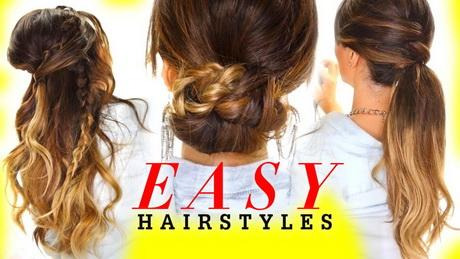 4 Easy Hairstyles For Greasy Hair | Cute Everyday Styles