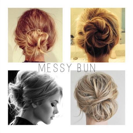 Tumblr messy hair bun