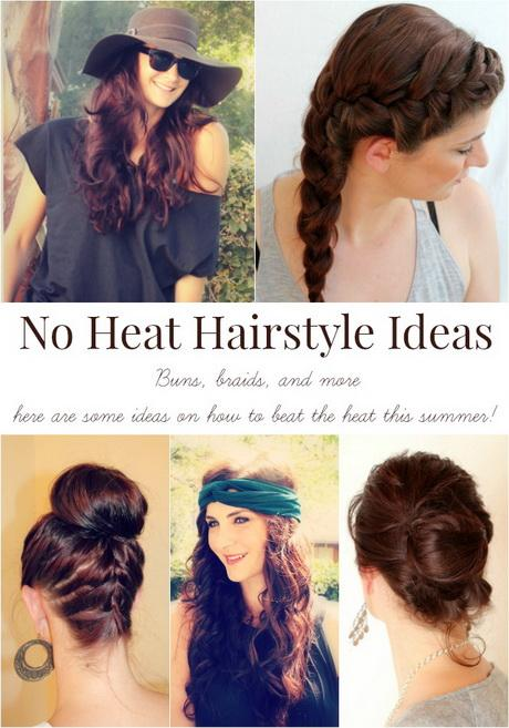 no heat styles for hair hairstyles no heat 9741