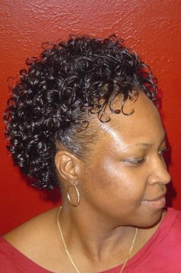 S Curl Hairstyles