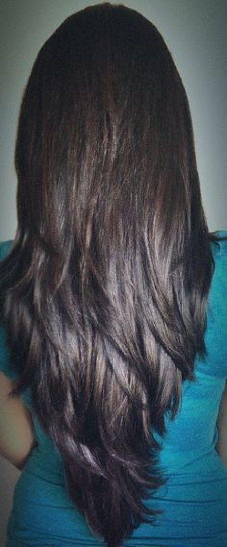 Deep V Hairstyles