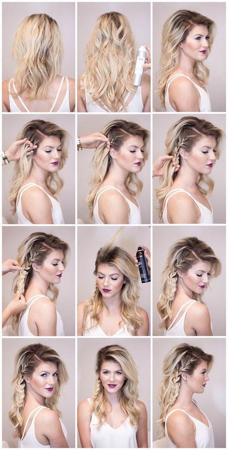 Easy Side Updos For Long Hair