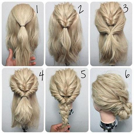 Fast Easy Hairstyles For Medium Hair - Hairstyles for short hair fast