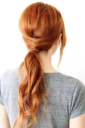 Hairstyles you can do yourself you can actually do yourself braided ponytail solutioingenieria Image collections