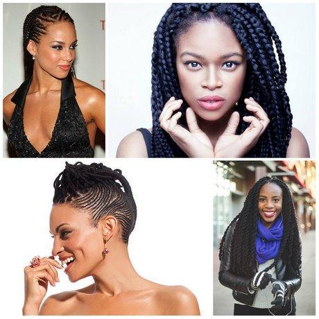 2019 Ghana Braids Hairstyles for Black Women