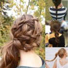 5 minute hairstyles for long hair