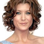 Best short curly hairstyles