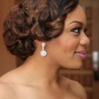Black bridal hairstyles pictures
