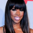 Black girl hairstyles with bangs