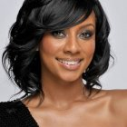 Black hair medium hairstyles