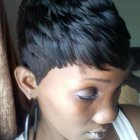Black hairstyles short hair