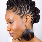 Black lady hairstyle