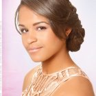Black prom hairstyle