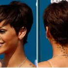 Black women short haircut