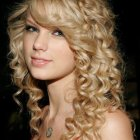 Curly cute hairstyles