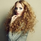 Curly hairstyle 2015