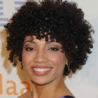 Curly natural hairstyles for black women