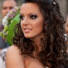 Cute curly hairstyles for prom