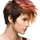Hair color for short hair styles