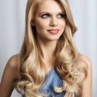 Hairstyle for long hair 2014