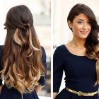 Hairstyle for long hair 2015