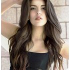 Hairstyle girls long hair